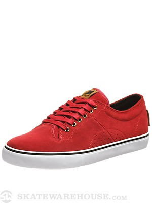 Dekline Bennett Shoes  Pepper Red/White