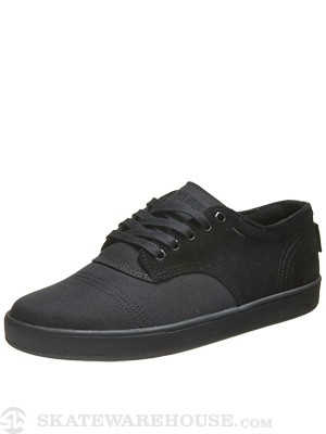 Dekline Everett Low Shoes  Black/Black