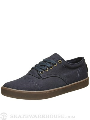 Dekline Everett Low Shoes  Navy/Gum