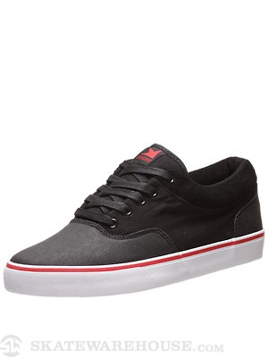 Dekline Keaton Shoes  Black/Red/White