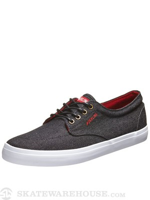 Dekline Mason Shoes  Black/Chili Pepper