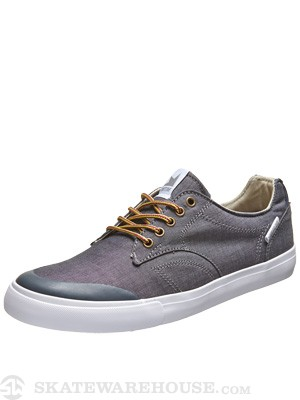 Dekline Tim Tim Shoes  Pewter/White