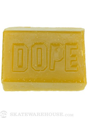 Dope Skateboard Wax Yellow