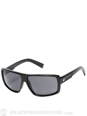 Dragon Double Dos Jet/Grey Performance Polarized
