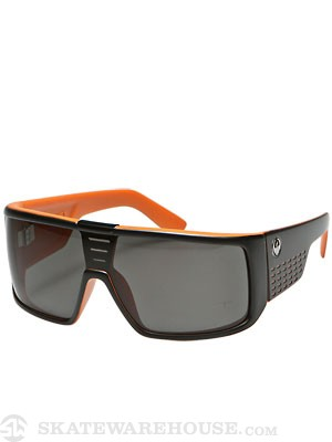 Dragon Domo Matte Black Orange/Grey Lens
