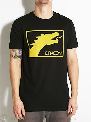 Dragon Face Tee Black SM