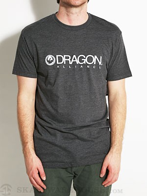 Dragon Trademark Tee Charcoal SM