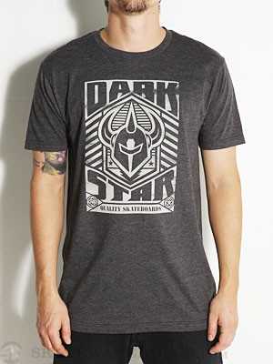 Darkstar Army Tee Heather Charcoal LG