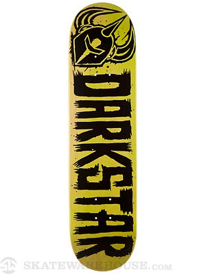 Darkstar Brush Lime Deck  7.9 x 31.7