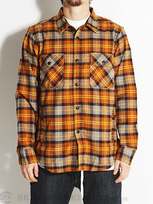 Dark Seas Corsair Flannel Jacket Ginger MD