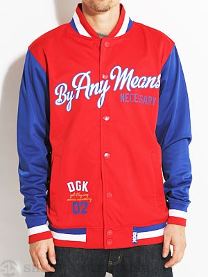 DGK Any Means Jacket Red LG