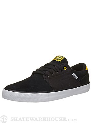 DVS Jarvis Shoes  Black Suede Cliche