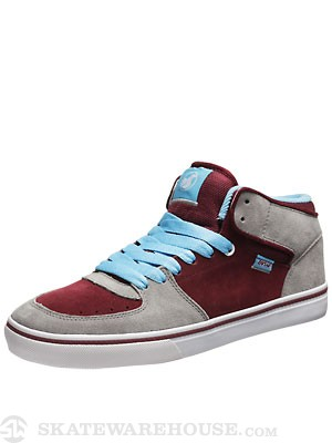 DVS Torey Shoes  Grey/Port