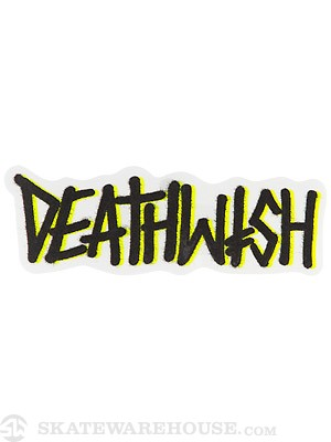 Deathwish Deathspray 3 Sticker  BLACK