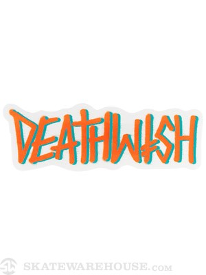 Deathwish Deathspray 3 Sticker  ORANGE