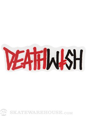 Deathwish Deathspray 3 Sticker  RED/BLACK