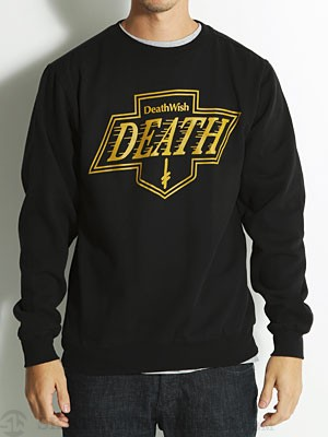 Deathwish Death Kings Crewneck Black/Gold SM