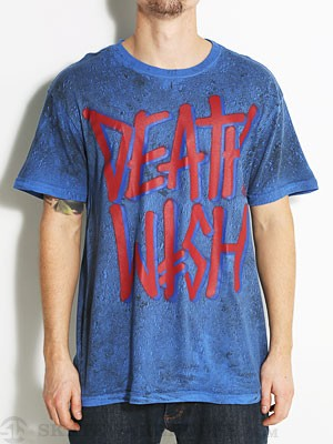 Deathwish Deathstack Layers Tee Blue/Black SM