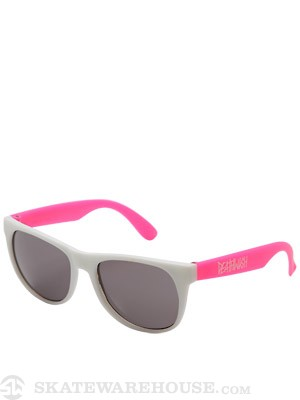 Deathwish Deathspray Sunglasses White/Pink
