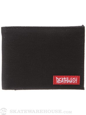 Deathwish Debt Wallet Black