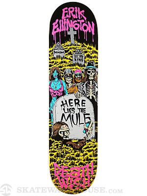 Deathwish Ellington Here Lies Reissue Deck 8.125 x 31.5