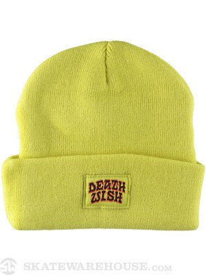 Deathwish Great Death Beanie Yellow