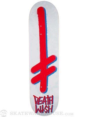 Deathwish Gang Logo Concrete Red/Blue Deck  7.875 x 31