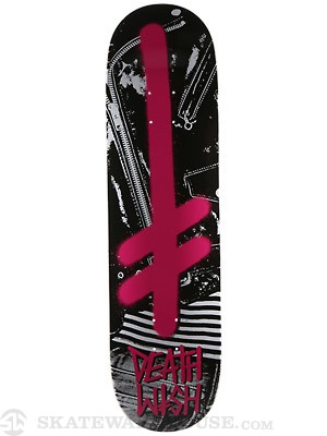 Deathwish Gang Logo NYC Punks Deck  8.25 x 31.5