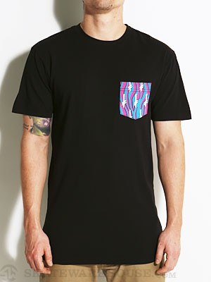 Gang Logo Pocket Tee Zebra/Black SM