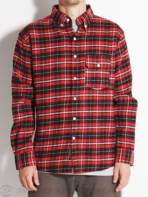Deathwish Goodman Flannel Red/Black SM