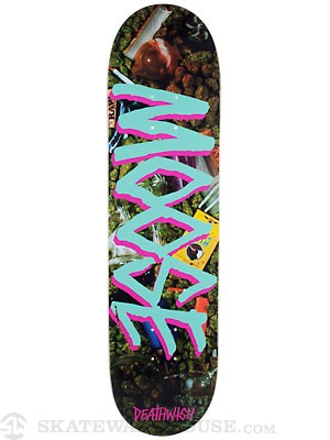 Deathwish Moose Gang Name Burnt Deck  8.0 x31.5