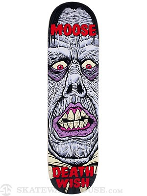 Deathwish Moose Nightmare Deck  8.25 x 31.5