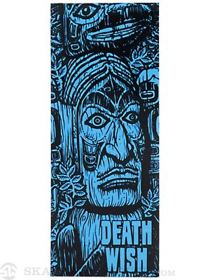 Deathwish Ruins Stickers Blue