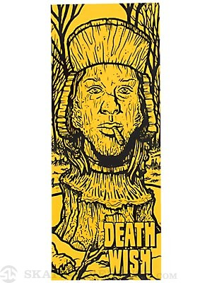 Deathwish Ruins Stickers Yellow