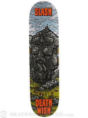 Deathwish Slash Ruins Deck  8.125 x 31.5
