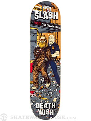 Deathwish Slash Walk Of Fame Deck  8.0 x 31.5