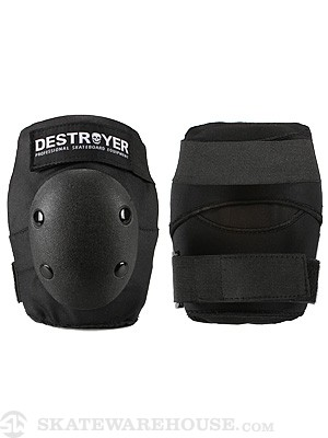 Destroyer Amateur Elbow Pads  Black