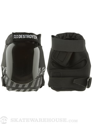 Destroyer Amateur Knee Pads  Black