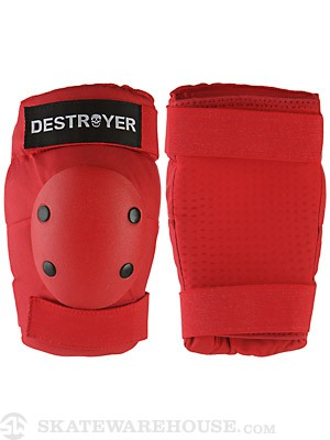 Destroyer Professional Elbow Pads Red