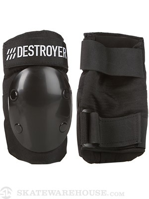 Destroyer Professional Elbow Pads  Black