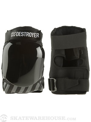 Destroyer Professional Knee Pads  Black