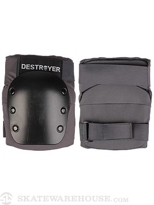 Destroyer Recreational Knee Pads  Grey/Black