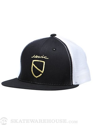 Eswic Icon Trucker Hat Black/White Adjust