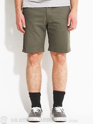 Eswic Stretch Chino Shorts Green 34
