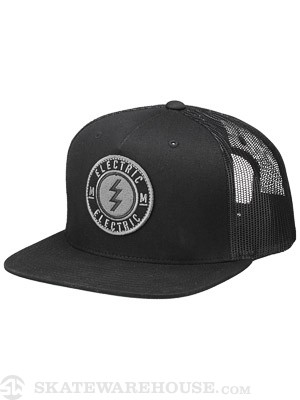 Electric Volt Established Mesh Hat Black Adj.