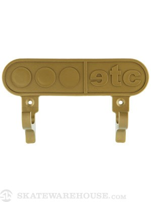 Etcetera Wall Ride Board Mount  Gold