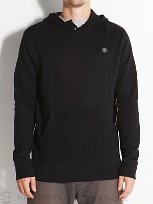 Element Bradbury Hooded Henley Shirt Black SM