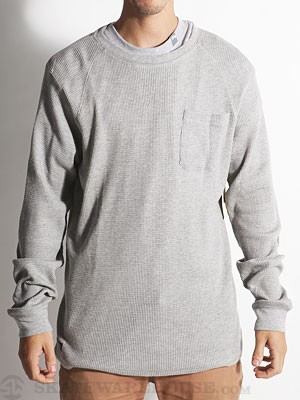 Element Brody Custom Thermal Shirt Grey SM