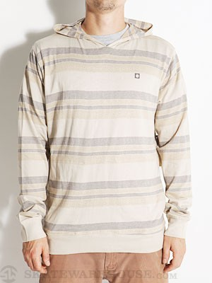 Element Balboa Hooded Pullover Shirt Wheat LG
