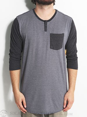 Element Dumas Knit Shirt Heather Grey XL